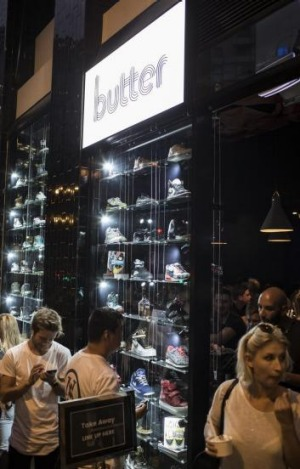 You can buy browse for sneakers at Butter, but not try them on.