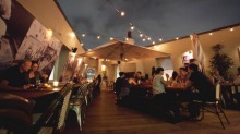 High life: Settle in on the Taphouse's rooftop.