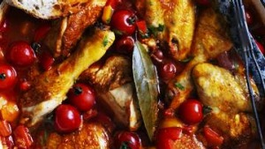 Italian chicken with capsicum and summer tomatoes