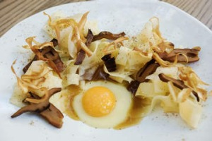 Parsnip pappardelle at Yellow in Potts Point.