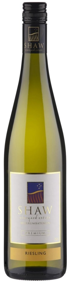 Shaw Vineyard Estate Canberra Riesling 2015.
