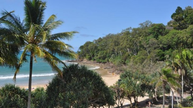 The fine beaches of the Sunshine Coast lure holidaymakers from the cities.