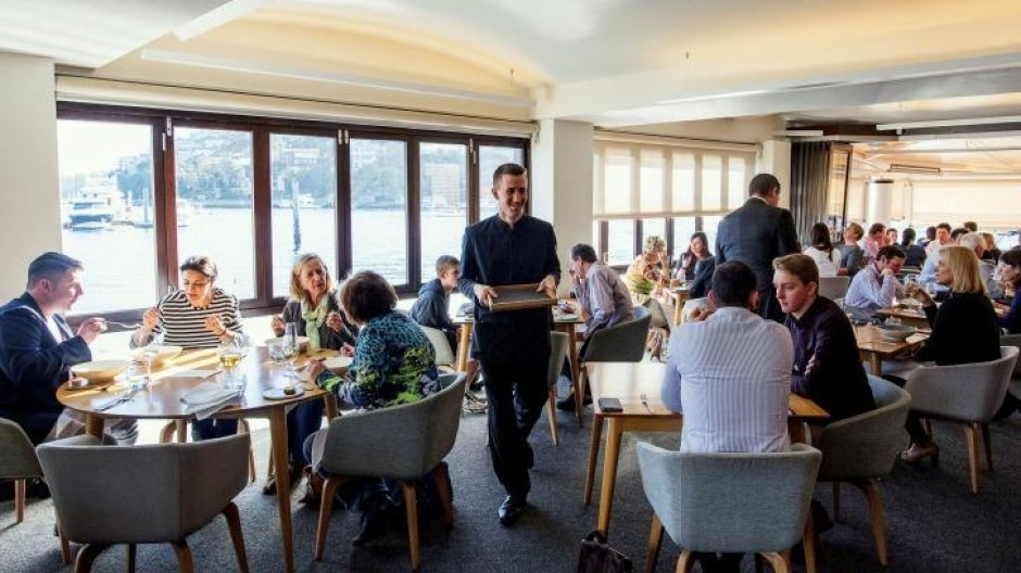 Ormeggio at The Spit showcases seaside views and progressive Italian dining.