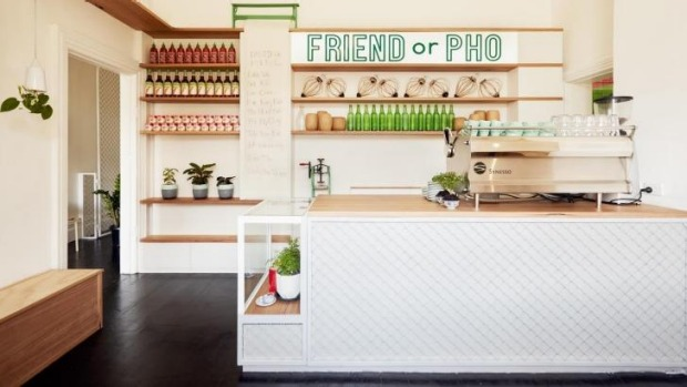 Co-owner Anna Nguyen designed the fitout at Friend or Pho.