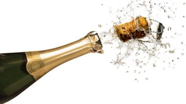 Australian sales of champagne have surged.