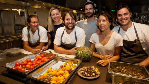 The Noma Australia team including Rene Redzepi (front centre).