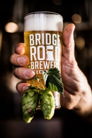 Bridge Road Brewers' special wet hop beer.