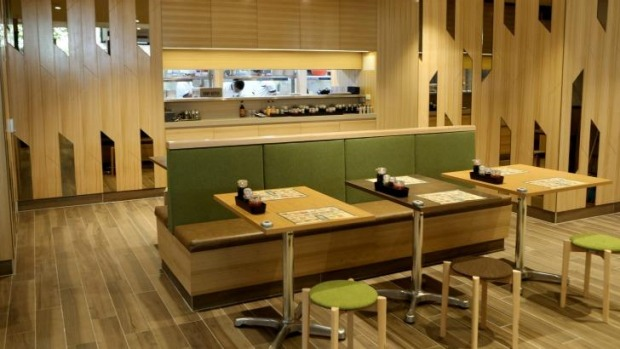 Functional fit-out: Inside Tim Ho Wan.