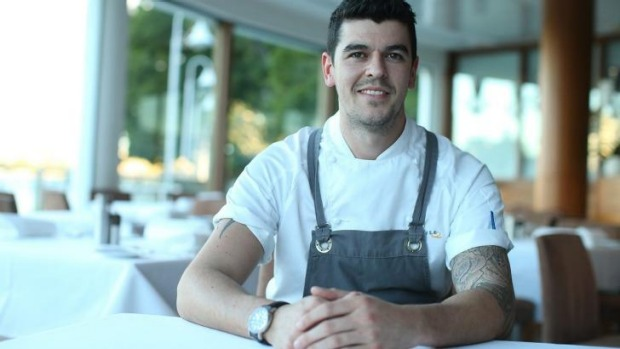 Ollie Hansford won last year's Young Chef of the Year award in Brisbane.