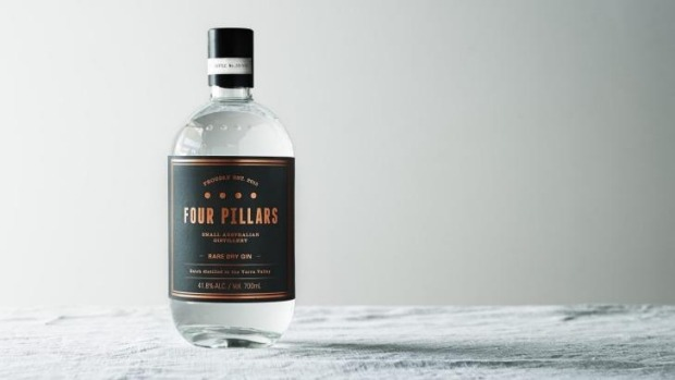 The winning Four Pillars Rare Dry Gin.