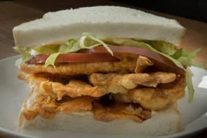 Bar Liberty's signature GLT sandwich.