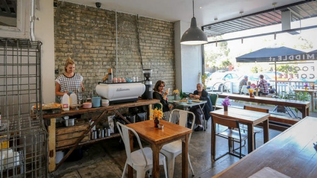 Middle street food coffee hadfield review 2016 good food for Food bar hadfield