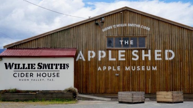 The Apple Shed is home to Willie Smith's cider.