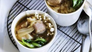 Adam Liaw's favourite pork belly soup.
