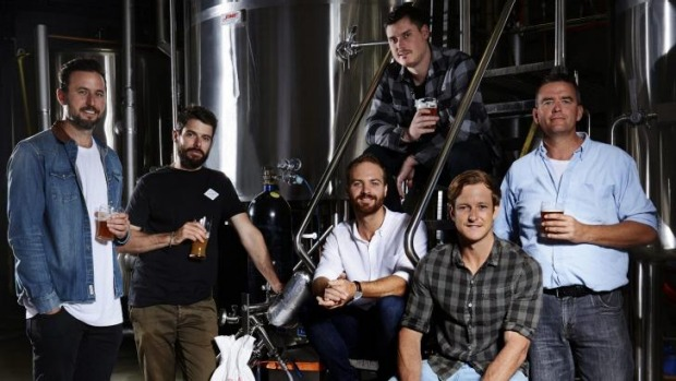 The Capital Brewing Company - Nick Hislop, Laurence Kain, Tom Hertel, Wade Hurley, Rich Coombes and Ian Stott