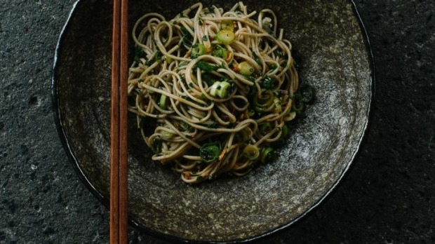 Soba noodles will be on the menu at Adam Liston's winter noodle bar at the Hotel Windsor.