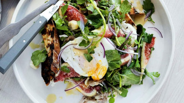 The Blue Ducks' poached eggs and ham hock 'anytime-of-day' meal.