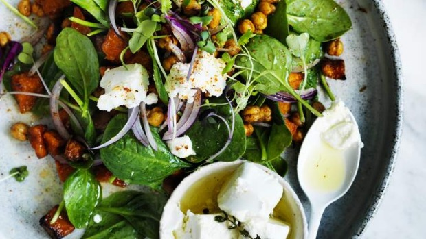 Make friends with warm salads in the cooler months.
