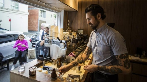 In a postcode stacked with cafes, Sean McManus is actually offering something different.