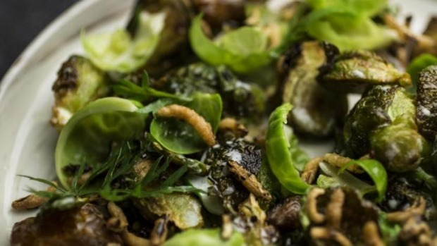 Brussels sprouts are the stars of the greens.
