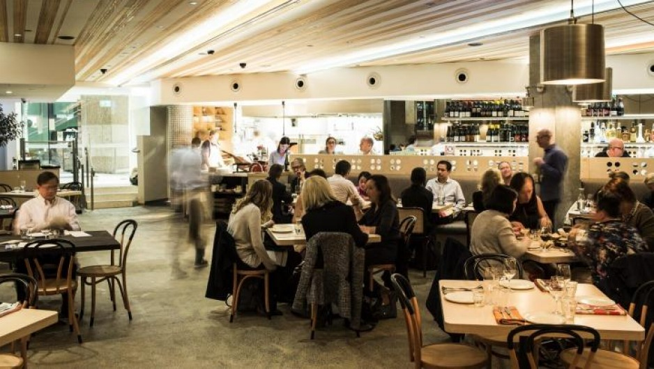 Matt Darwon's pared-back makeover of the historic space.