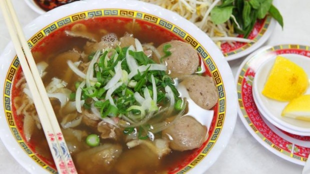 Pho from Pho Tau Bay, Cabramatta.  Photo: Wesley Lonergan