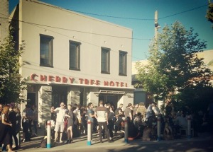 Richmond's Cherry Tree Hotel.