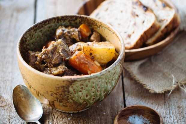 Simple brown butter beef stew <a ...
