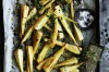 Roast parsnip chips with mint gremolata <a ...