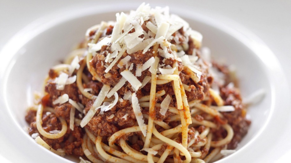 Spaghetti bolognese - tastes better the next day.