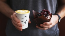 Recreate Single Origin coffee at home (bonus points for homemade berry muffin).