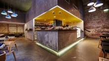 he Flour Factory is set to bring the Big Apple's Meatpacking district to the 'hood with a New York-style deli and a ...