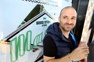 George Calombaris says he's excited to be moving Mastic.