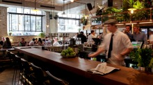 The Morrison Bar has been affected by Sydney's light rail project.