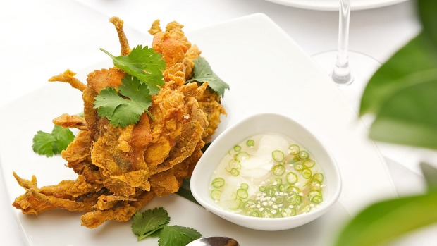 Soft shell crab at Sailors Thai in Sydney.