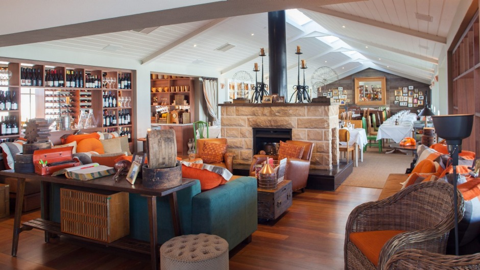 Donovans Restaurant In Melbourne Opts For A Less Formal Setting With Fireplace And Couches