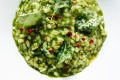 Stinging nettle and saltbush risotto from Tipo 00.