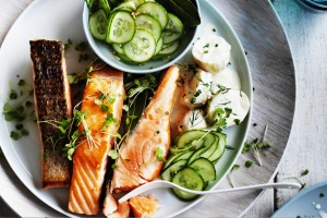 Salmon with a Danish-twist.