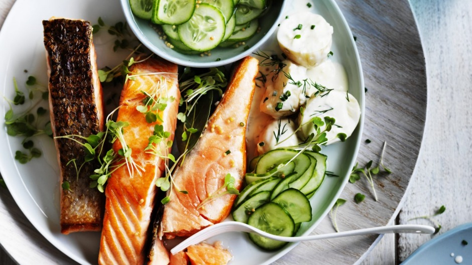 Salmon with a Danish twist.