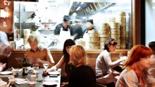 The HuTong Dumpling Bar in Market Lane is a quintessential Melbourne dining experience.