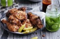 Perfect picnic fare: cold buttermilk fried chicken.
