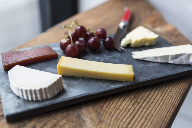 Cheese platter at the Shifty Chevre.