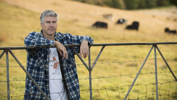 Farm gate: Matthew Evans hopes to open a restaurant and cooking school on Fat Pig Farm.