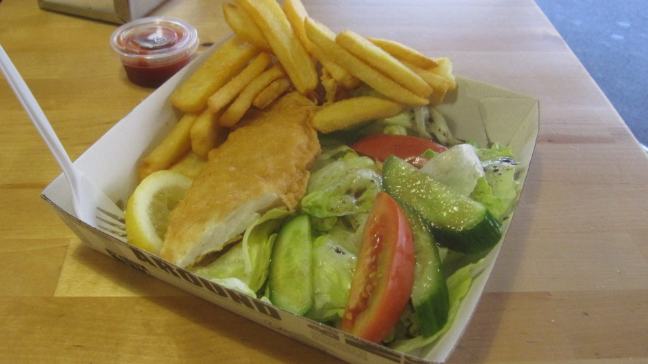 """The """"Bliss Fish"""" and chips and Newtown's latest vegan takeaway."""
