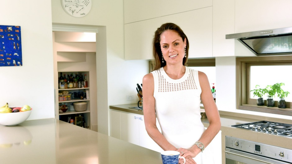 Zoe Bingley-Pullin says her kitchen has been built with finesse.