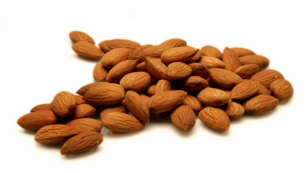 Consumption of nuts and seeds, such as almonds, is too low.