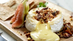 Old-school classic ... The baked camembert at Royal Hotel in  Sydney's Paddington.