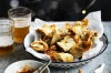 Fried spinach and dried shrimp wontons <a ...