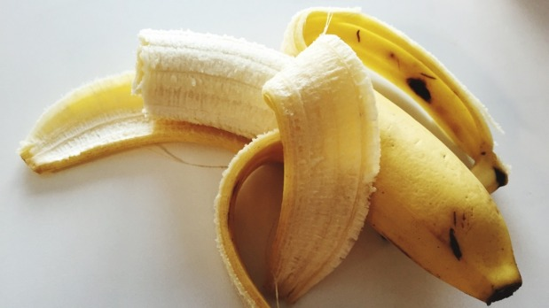 Don't discard the banana peel - it has health properties.