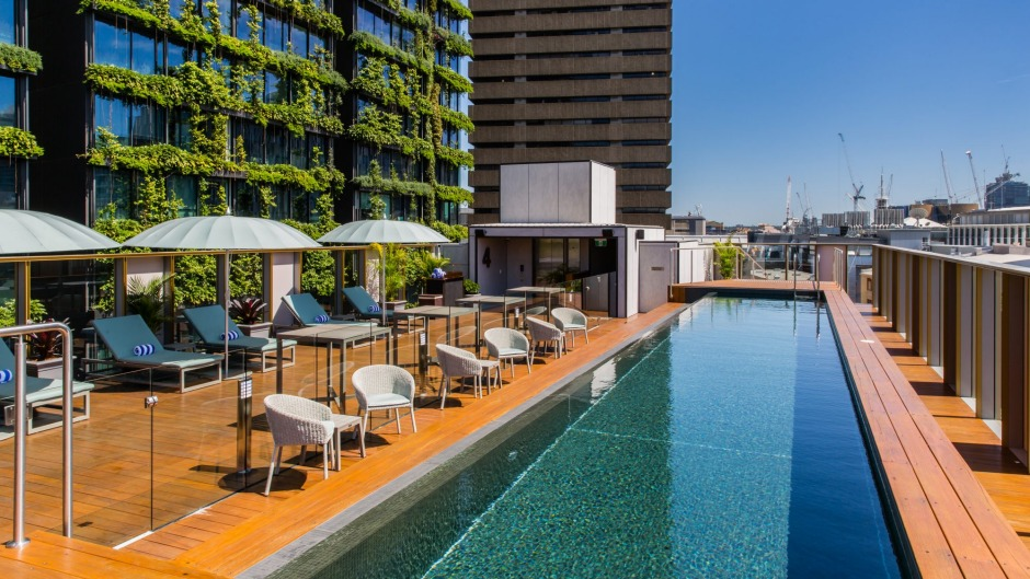 The Old Clare's Rooftop Pool and Bar is a recent arrival on Sydney's elevated bar scene.